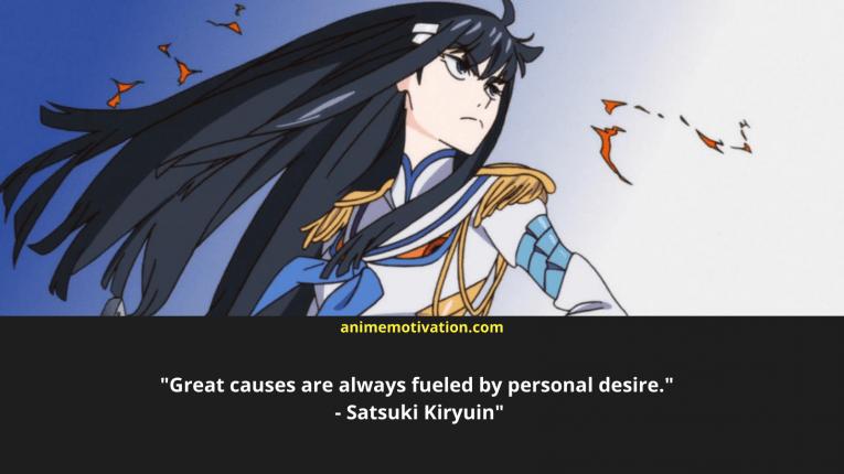 satsuki kiryuin wallpaper quotes 1