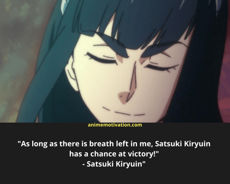 satsuki kiryuin wallpaper quotes mobile 5