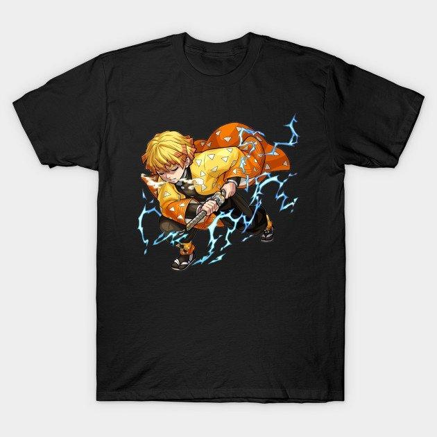 Zenitsu Thunder Clap and Flash T Shirt