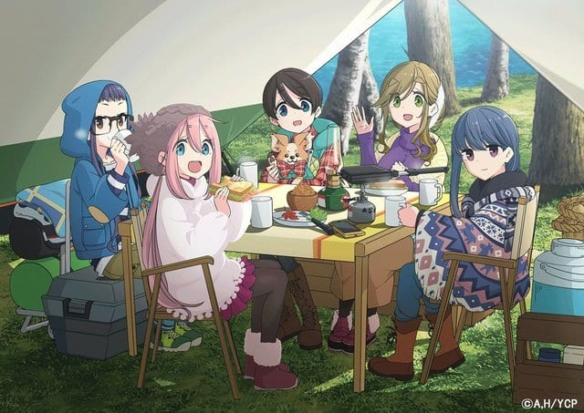 Yuru Camp△ Season 2 2021