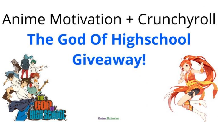 anime motivation and crunchyroll the god of highschool giveaway contest 1