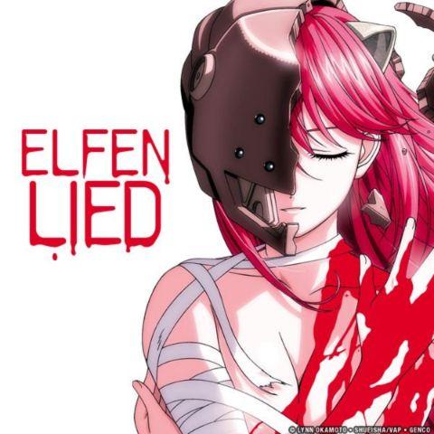 elfen lied anime sad series