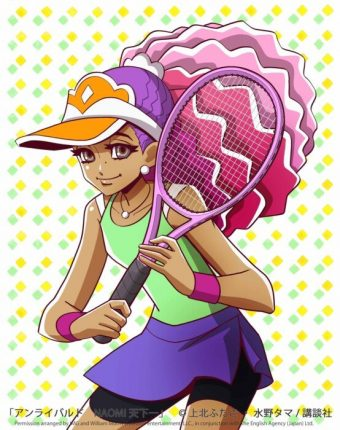 naomi osaka anime manga character