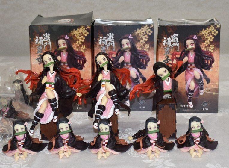 nezuko fake figurines 2