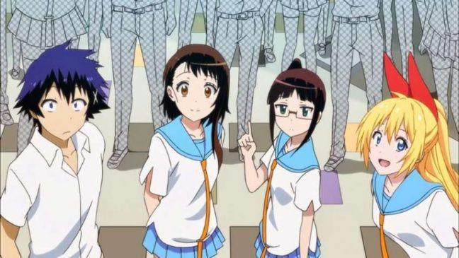 nisekoi anime characters
