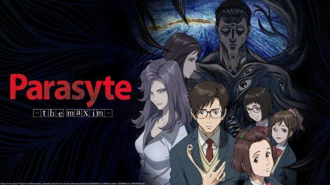 parasyte anime series cover