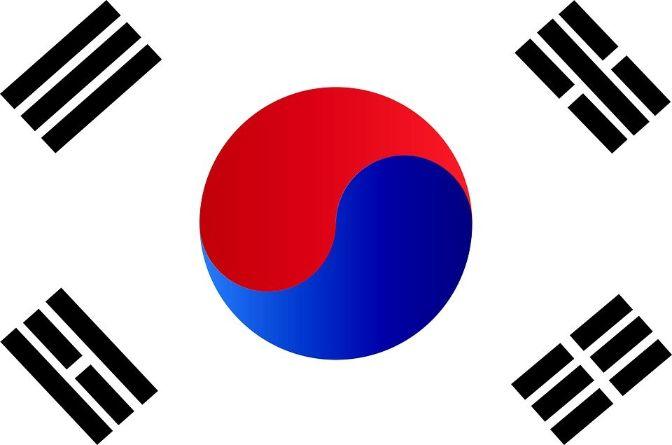 republic of south korea flag