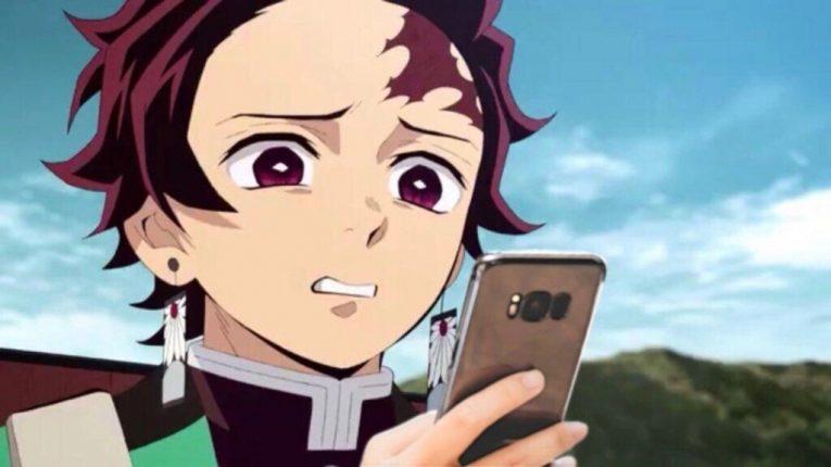 tanjiro face disgusted