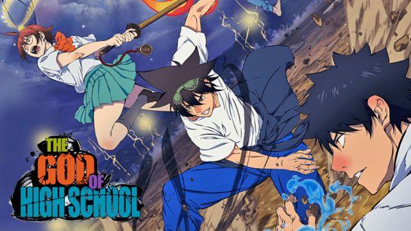 the god of highschool anime cover