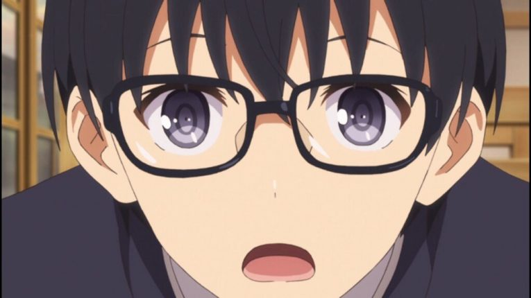 tomoya saekano glasses