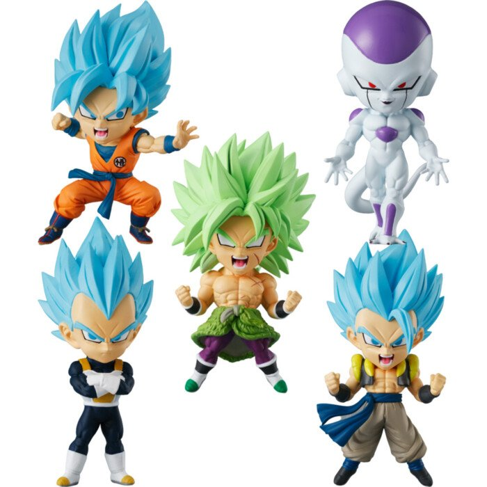 Dragon Ball Super Chibi Masters Figure Set