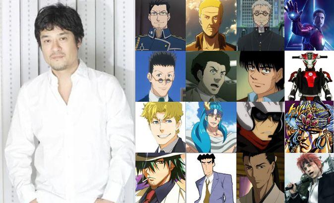 Keiji Fujiwara anime voice actor japan 1