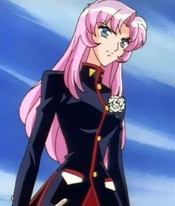 Utena Tenjou pink hair