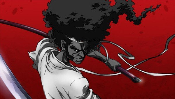 afro samurai black anime series