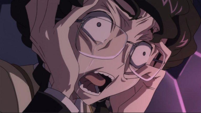 crazy anime girl glasses