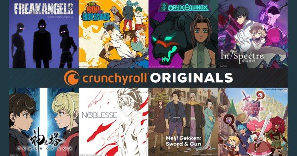 crunchyroll originals anime 2020