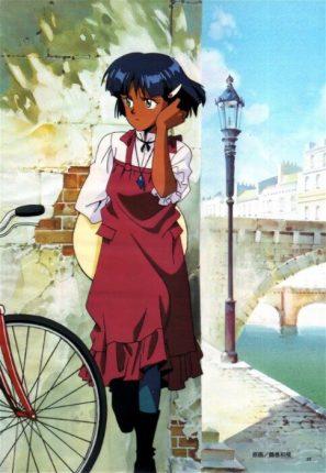 nadia anime girl official art