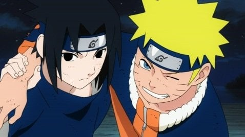naruto and sasuke friends