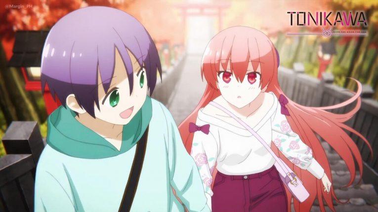 tonikawa nasa and tsukasa cute wallpaper