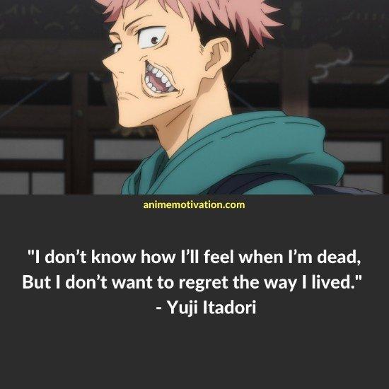 yuji itadori quotes 1