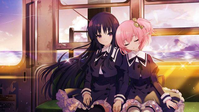 assault lily bouquet anime wallpaper cute 1