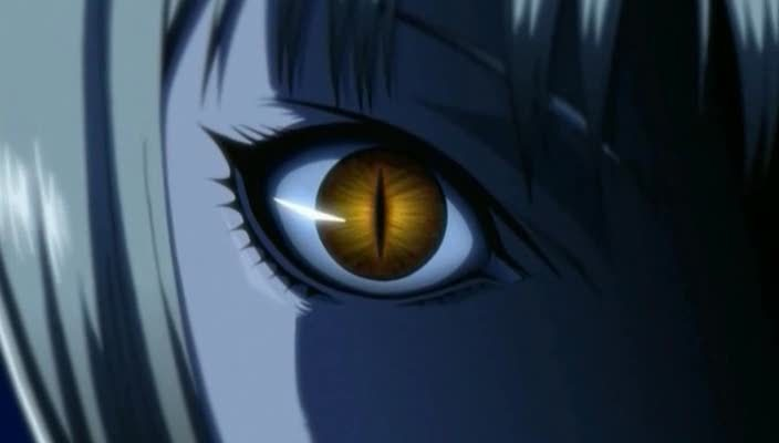 claymore clare eyes