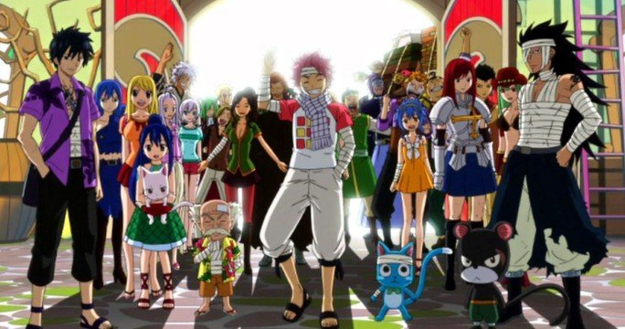 fairy tail guild characters