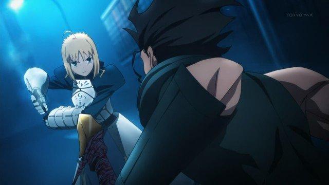 fate zero anime series fight