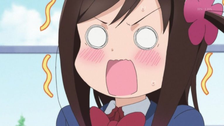 hitori bocchi funny face worried
