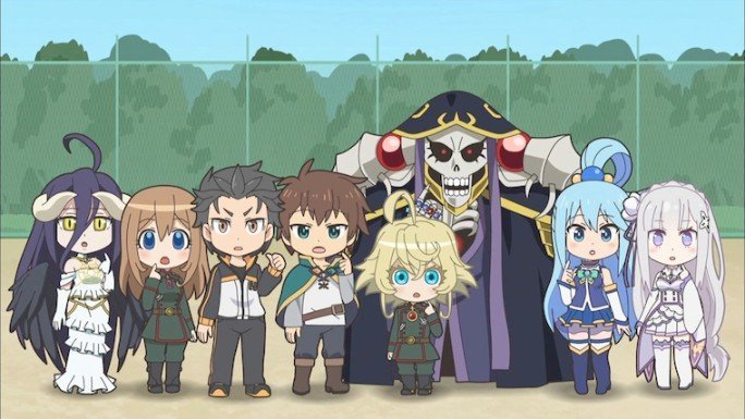 isekai quartlet anime scene