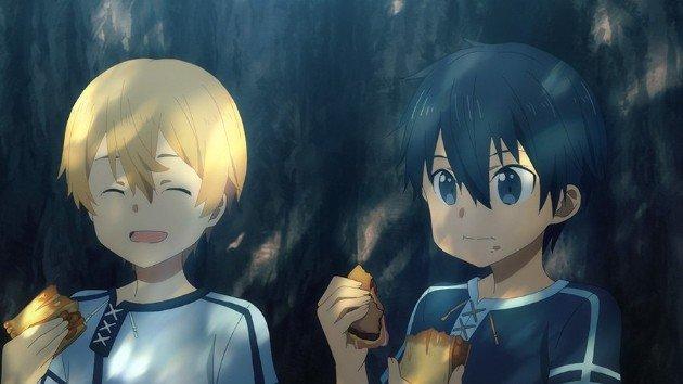 kirito and eugeo kawaii