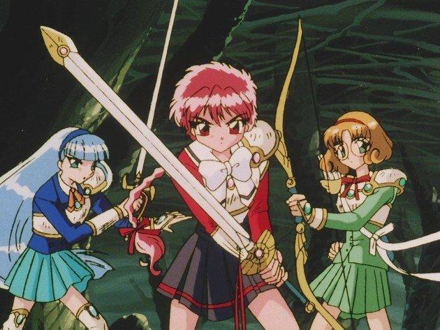 magic knight rayearth magic knights