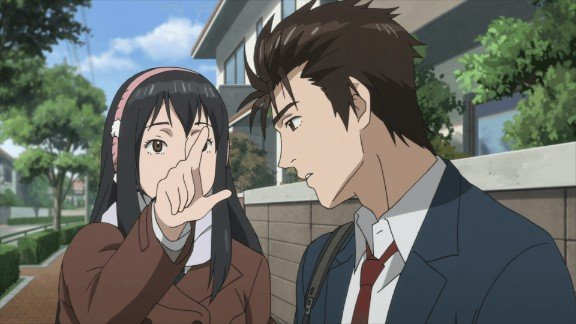 parasyte anime scene shinichi