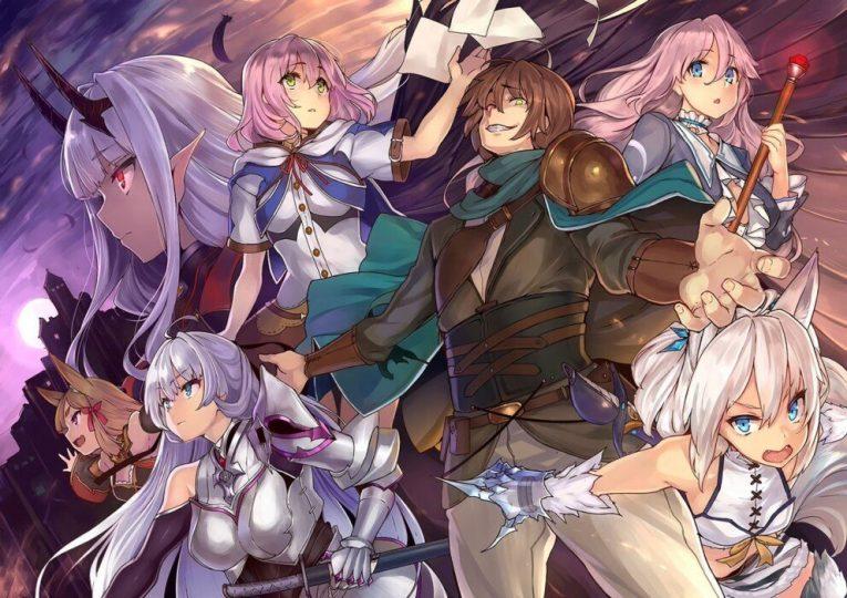 redo of healer anime series wallpaper