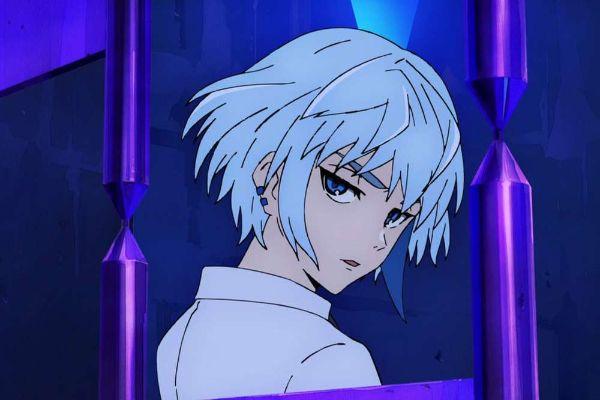 tower of god anime blue hair