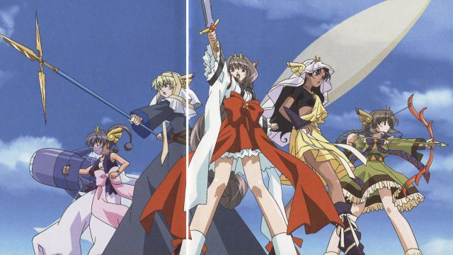 Chou Henshin Cosprayers anime
