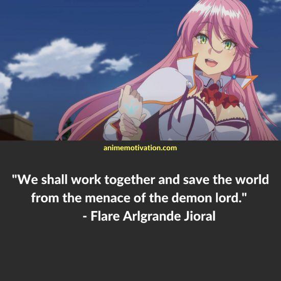 Flare Arlgrande Jioral quotes redo of healer 1