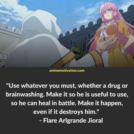 Flare Arlgrande Jioral quotes redo of healer 2