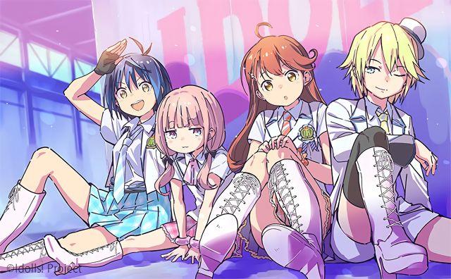 Idolls anime series