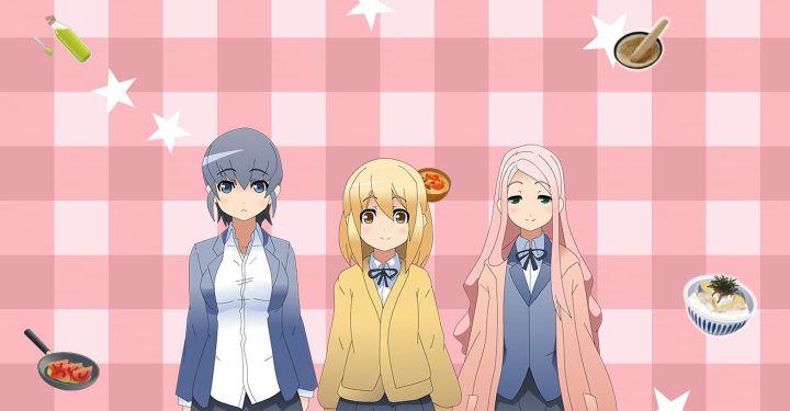 JK Meshi anime series