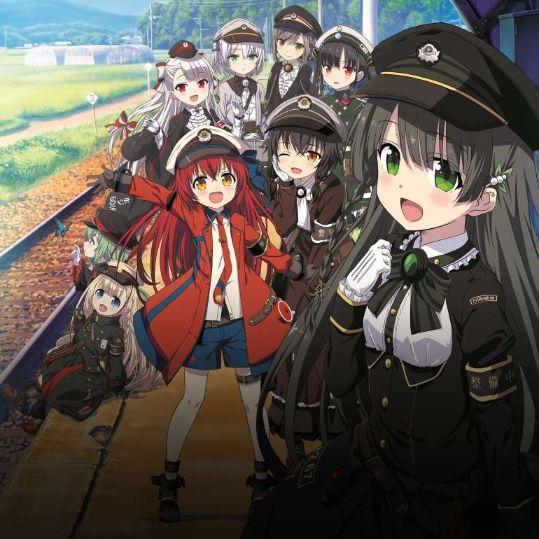 Rail Romanesque anime 1