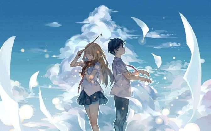Your Lie In April characters beautiful