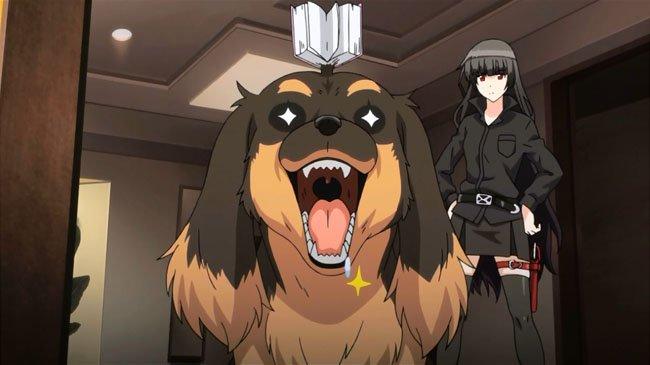 dog and scissors weird anime