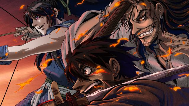 drifters anime series