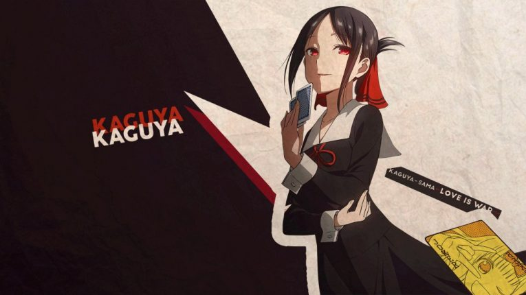 kaguya sama wallpaper smug