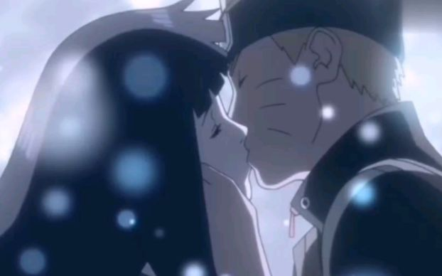 naruto hinata kiss
