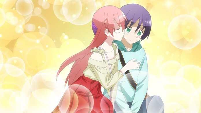tsukasa and nasa kiss