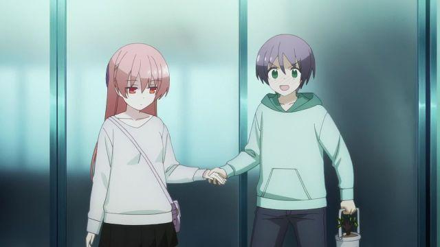 tsukasa and nasa out together holding hands