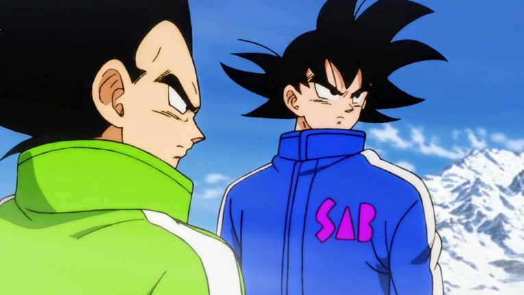 vegeta and goku jackets cool