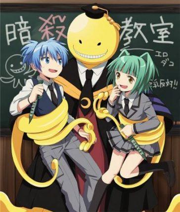 Assassination Classroom anime cover
